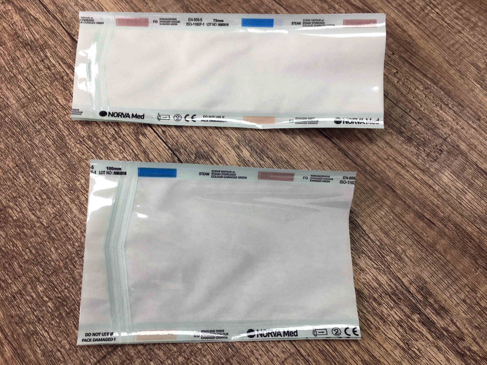 FLAT and GUSSEET STERILIZATION POUCH