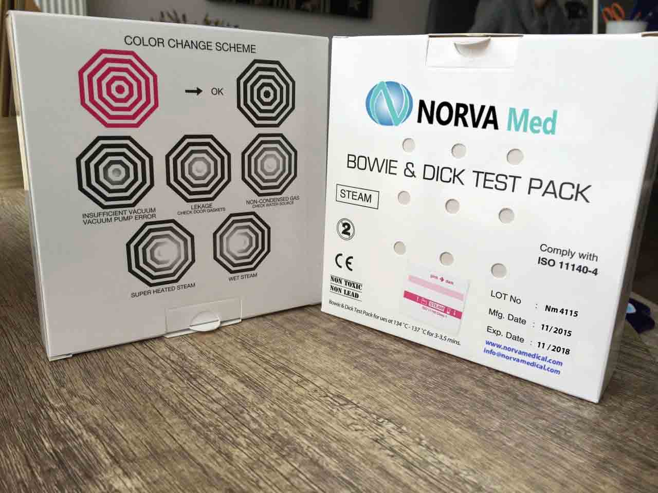 BOWIE&DICK AUTOCLAVE TEST PACK